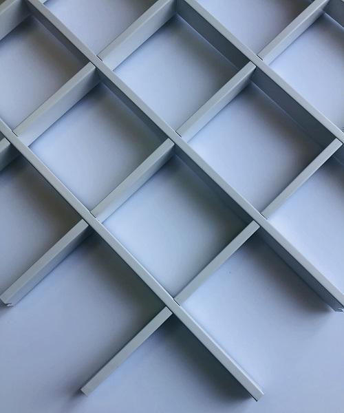 Металлические подвесные потолки Albes